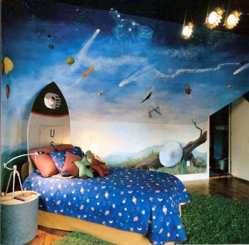 Inspiring Outer Space Bedroom Decor Ideas 14