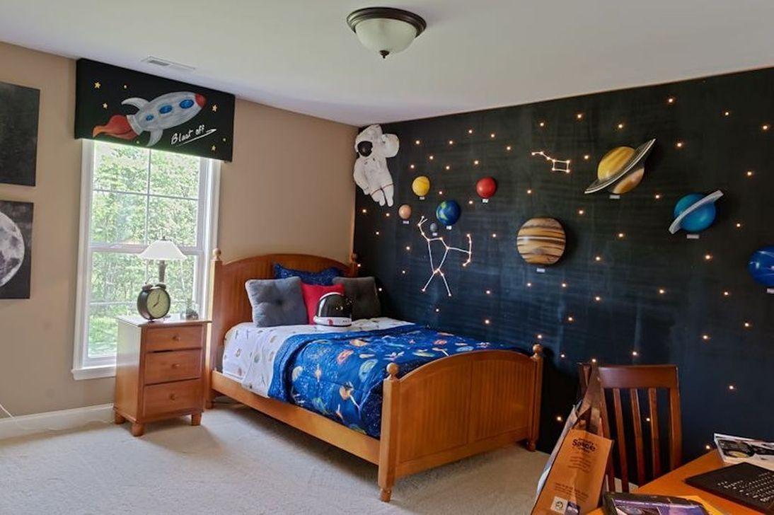 Inspiring Outer Space Bedroom Decor Ideas 26