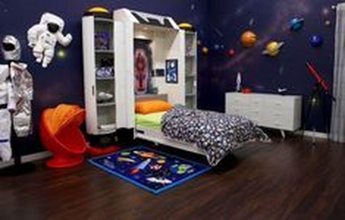 Inspiring Outer Space Bedroom Decor Ideas 27