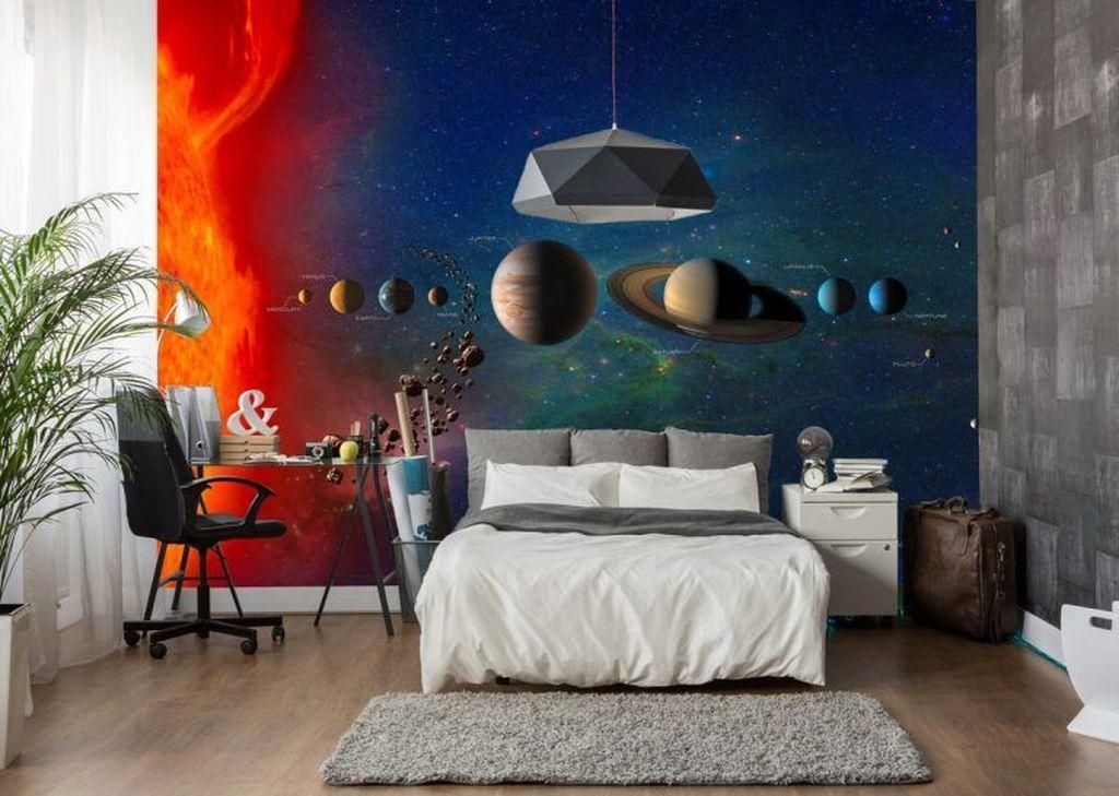 Inspiring Outer Space Bedroom Decor Ideas 32