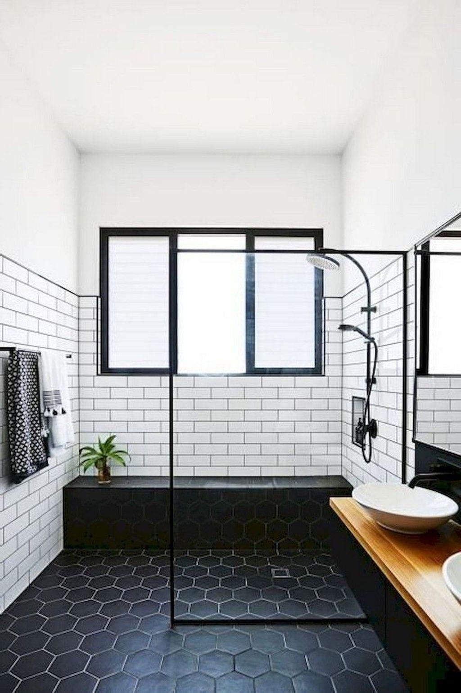Inspiring Small Modern Farmhouse Bathroom Design Ideas 14