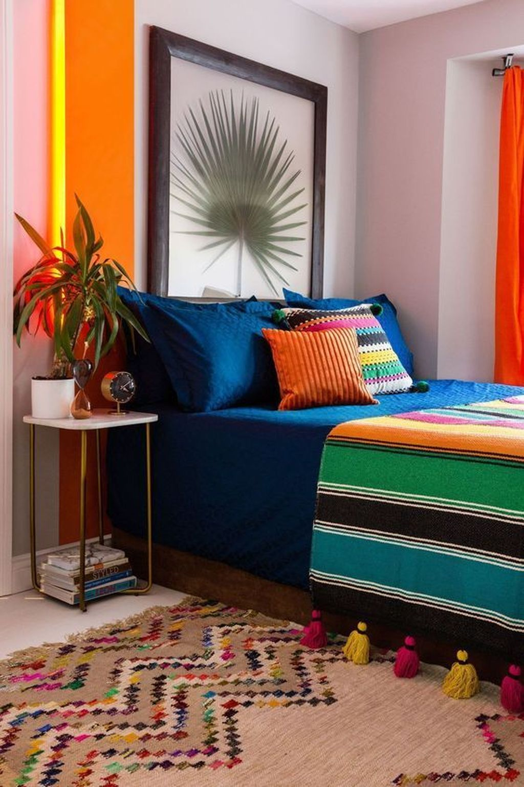 Lovely Eclectic Bedroom Decor Ideas 08