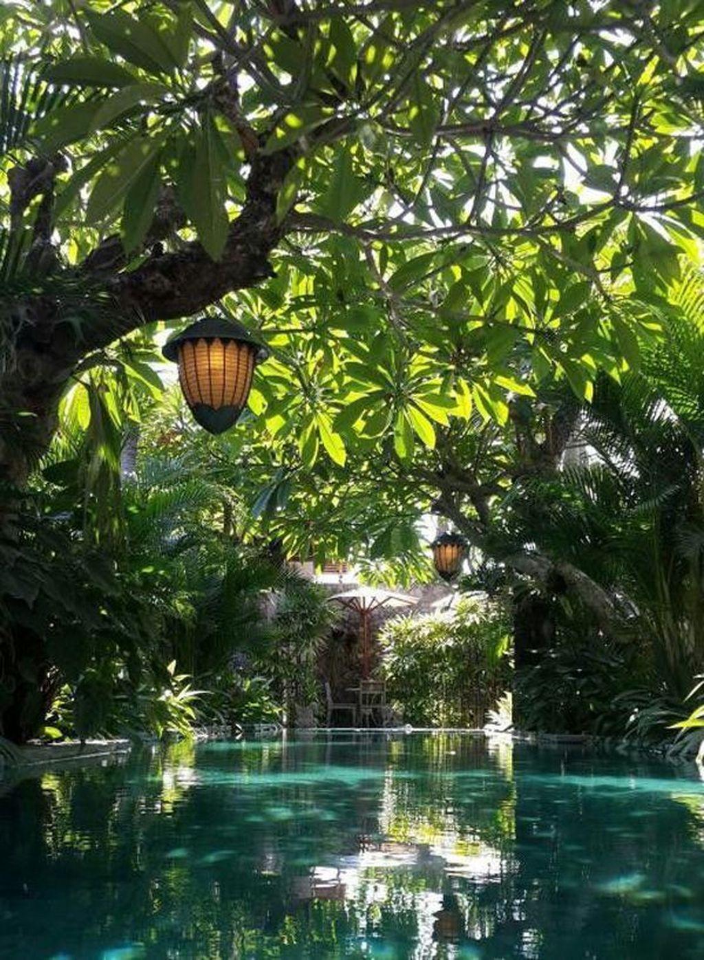Lovely Tropical Garden Design Ideas 33
