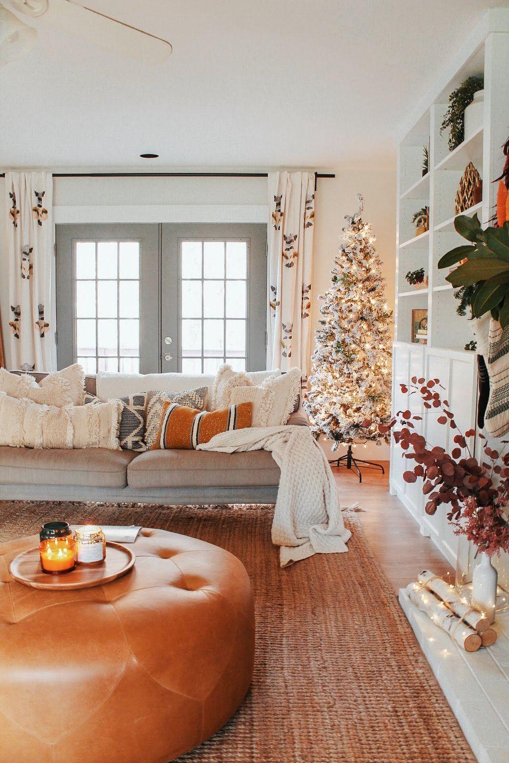 Nice Boho Farmhouse Design Ideas For Your Living Room Decoration 02