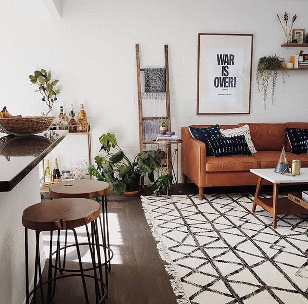 Nice Boho Farmhouse Design Ideas For Your Living Room Decoration 29