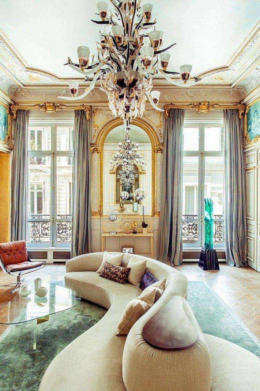 Nice Eclectic Parisian Home Decoration Ideas 05