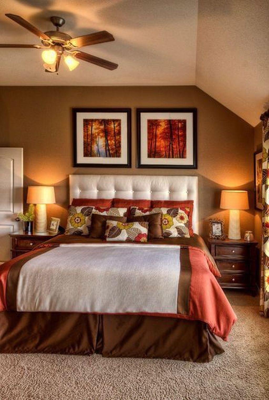 Nice Fall Bedroom Decor Ideas 20