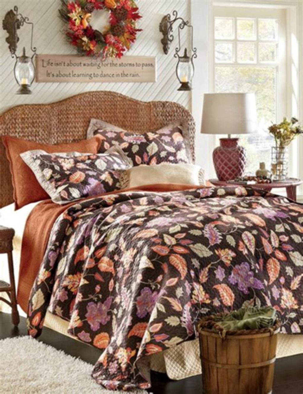 Nice Fall Bedroom Decor Ideas 25