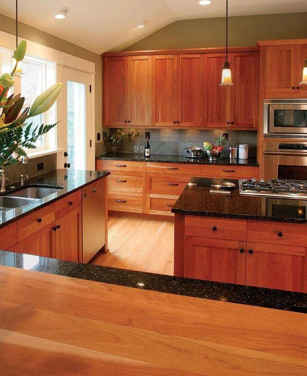 Nice Sage Kitchen Cabinets Design Ideas 08