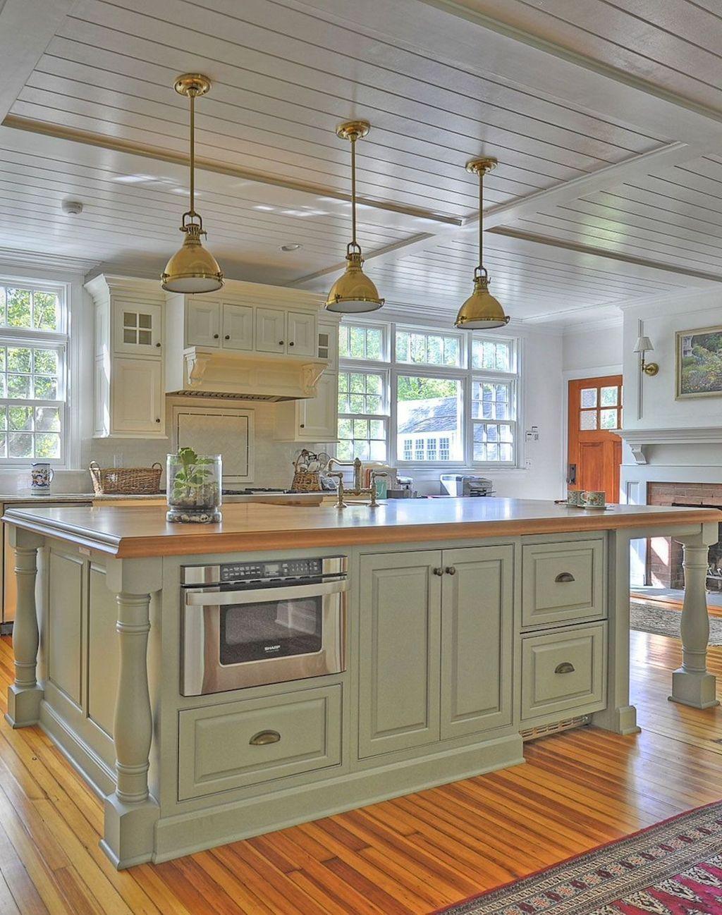 Nice Sage Kitchen Cabinets Design Ideas 14