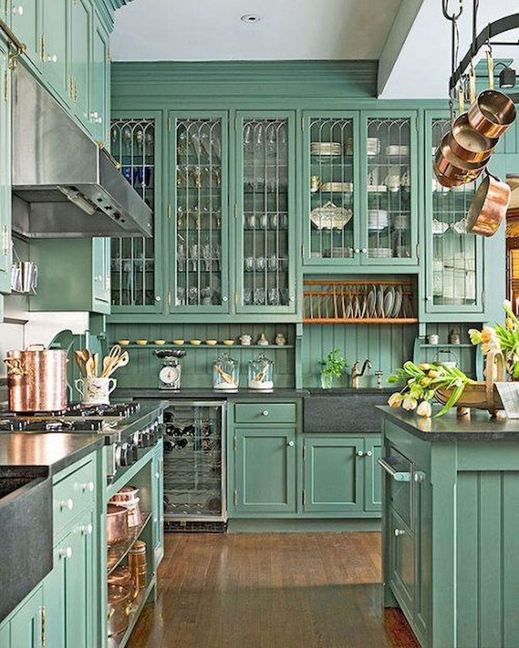 Nice Sage Kitchen Cabinets Design Ideas 15