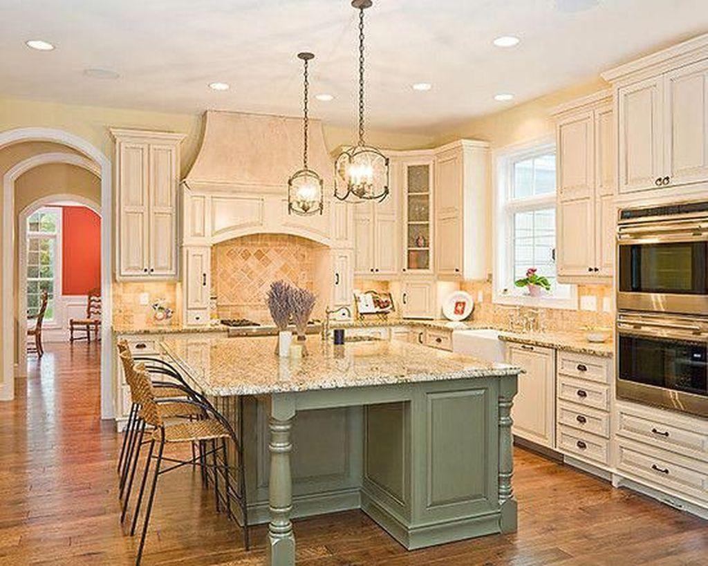 Nice Sage Kitchen Cabinets Design Ideas 19