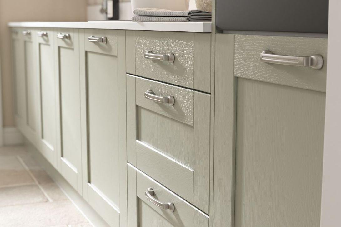 Nice Sage Kitchen Cabinets Design Ideas 25