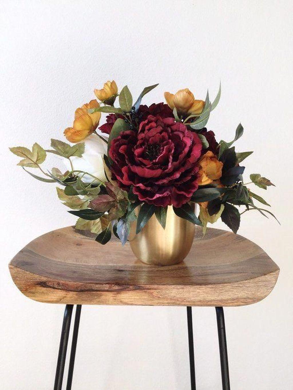 Nice Thanksgiving Flower Arrangements Design Ideas 12