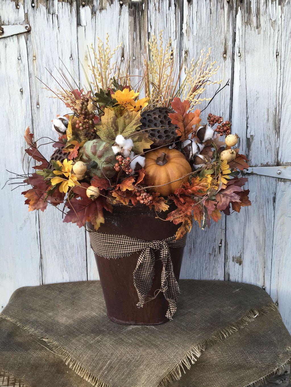 Nice Thanksgiving Flower Arrangements Design Ideas 16