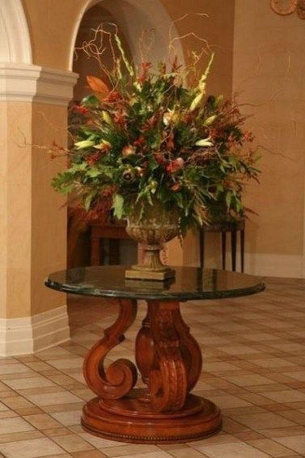 Nice Thanksgiving Flower Arrangements Design Ideas 21