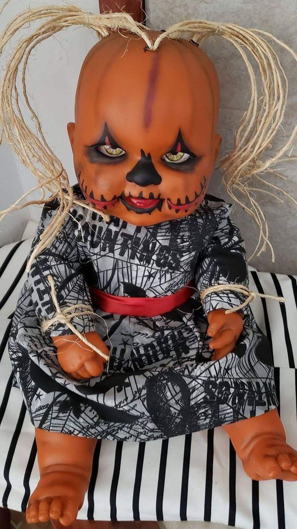 Popular Halloween Pumpkin Design Ideas 17