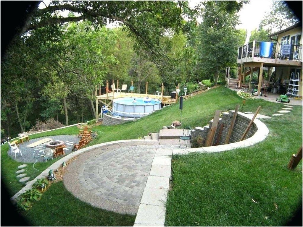32 Popular Terraced Landscaping Slope Yard Design Ideas ... on Sloped Backyard Design id=71870