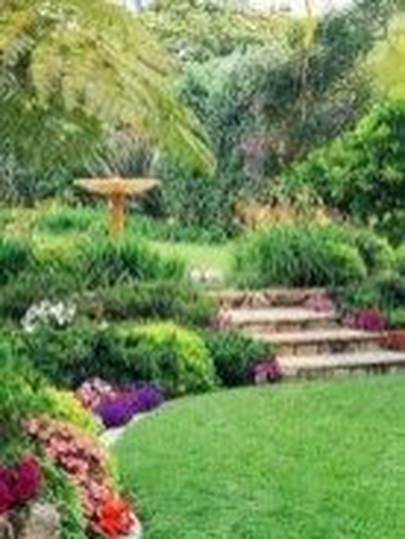 Popular Terraced Landscaping Slope Yard Design Ideas 30