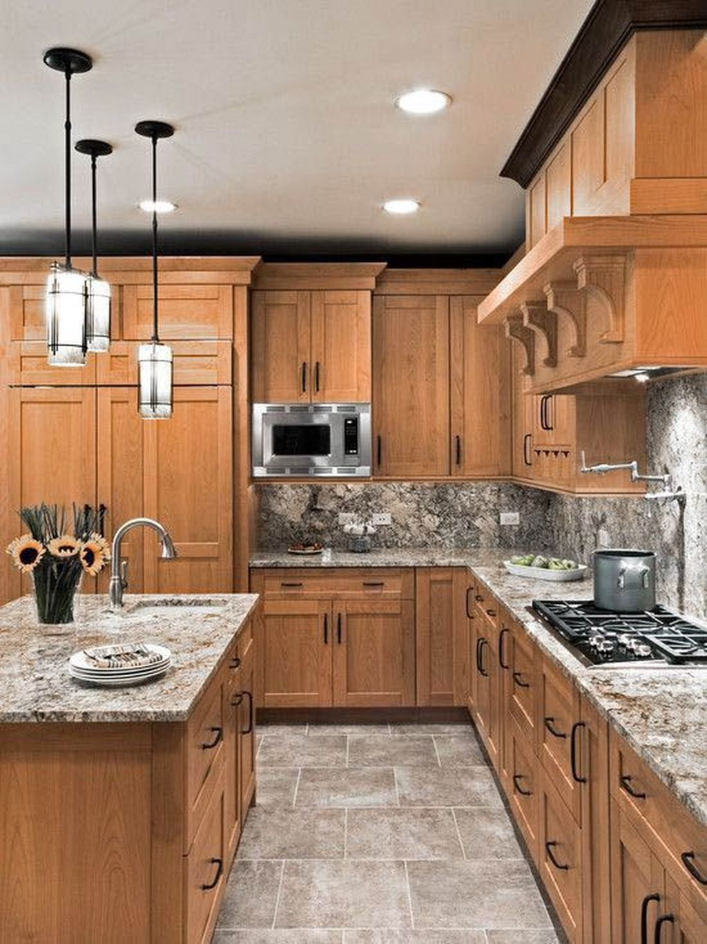 Popular Traditional Kitchen Design Ideas 08