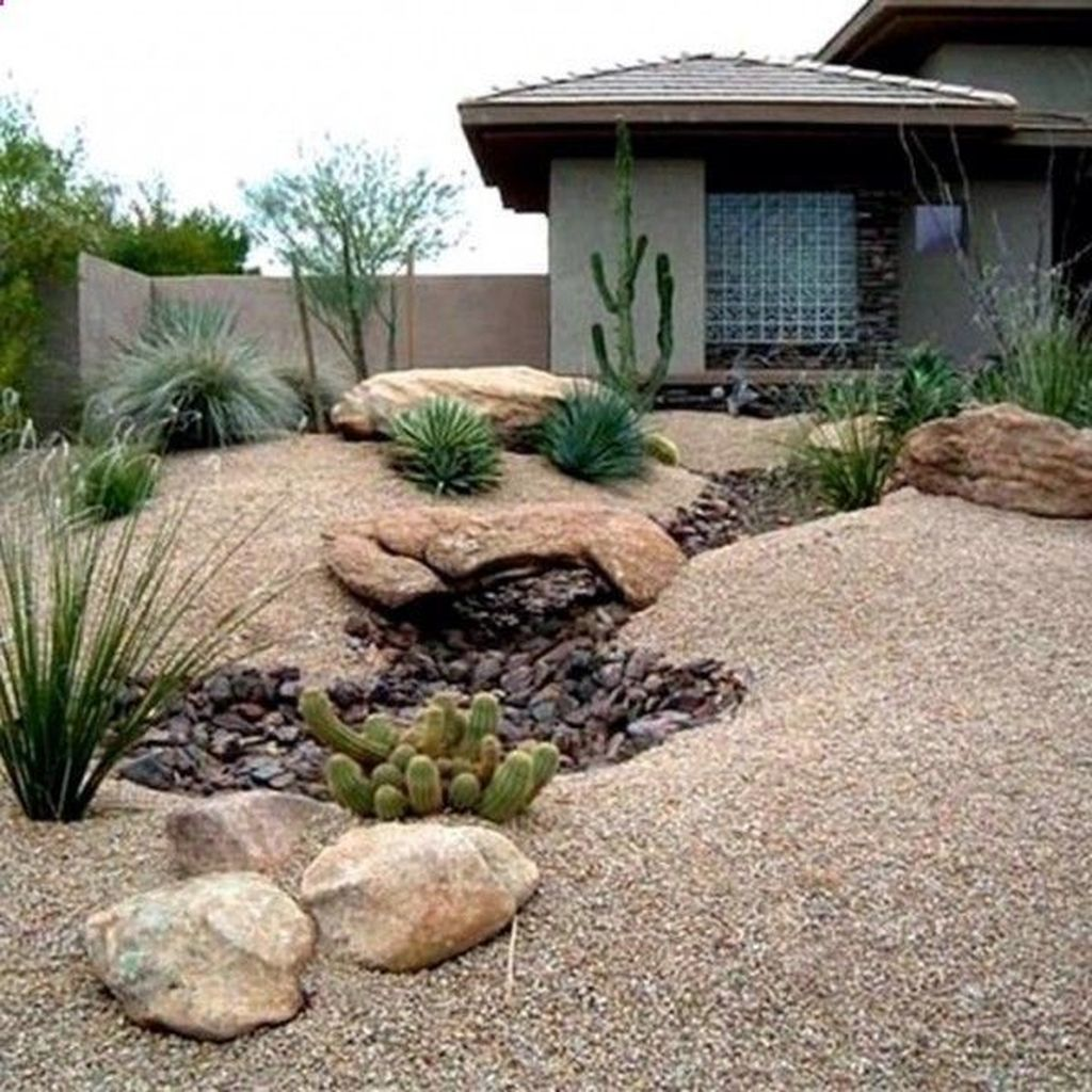 Popular Xeriscape Landscape Ideas For Your Front Yard 11