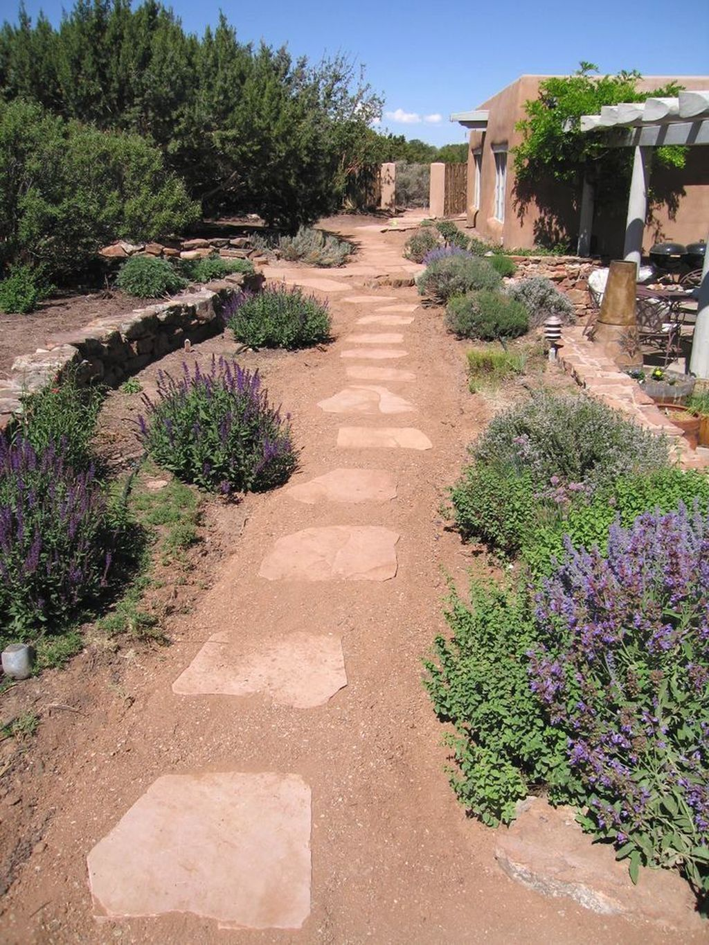 Popular Xeriscape Landscape Ideas For Your Front Yard 21