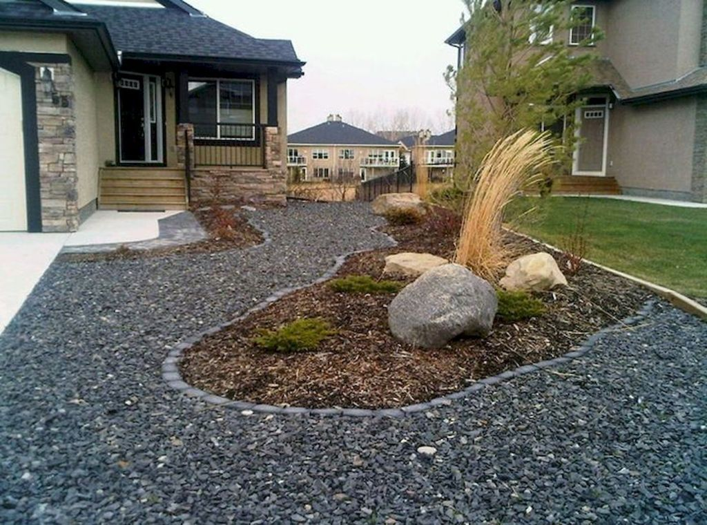 35 Popular Xeriscape Landscape Ideas For Your Front Yard ... on Xeriscape Yard Ideas id=12145