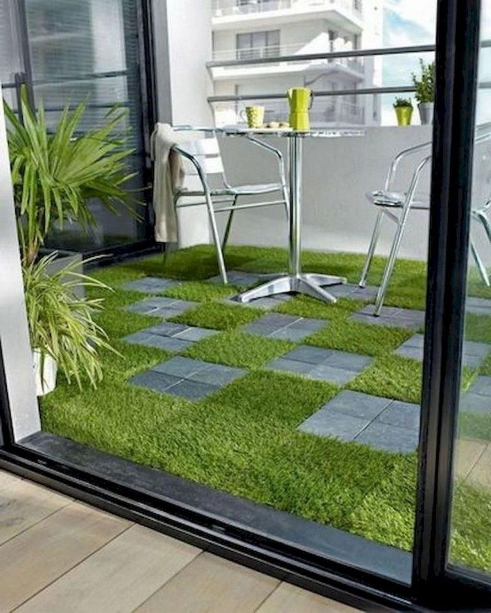 Stunning Apartment Garden Design Ideas 03