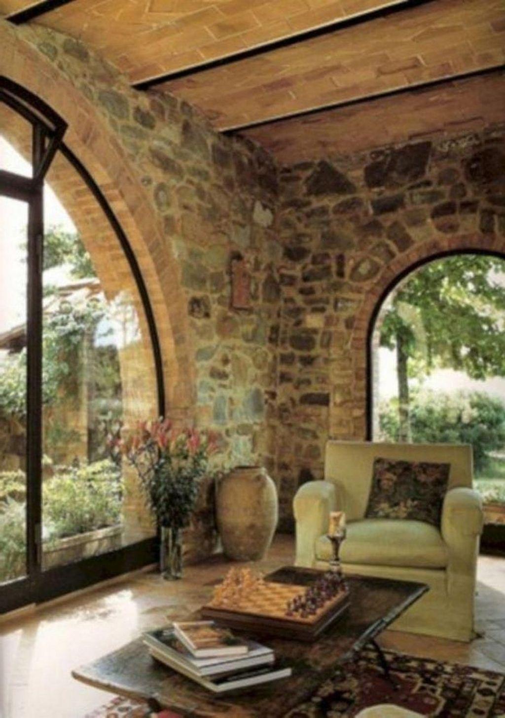 Stunning Italian Rustic Decor Ideas For Your Living Room 23