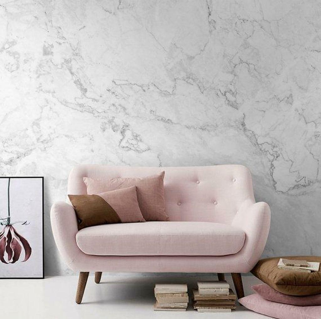 Stunning Marble Room Decor Ideas 06