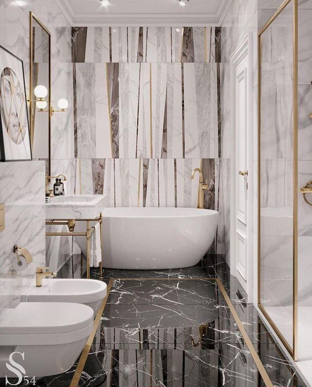 Stunning Marble Room Decor Ideas 13