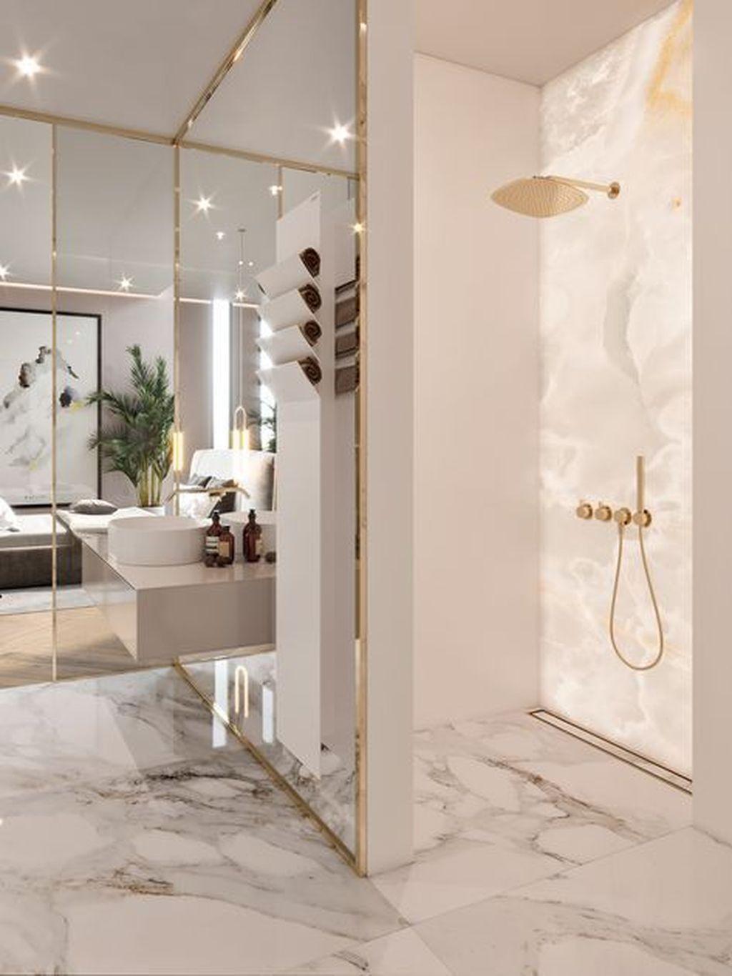 Stunning Marble Room Decor Ideas 27