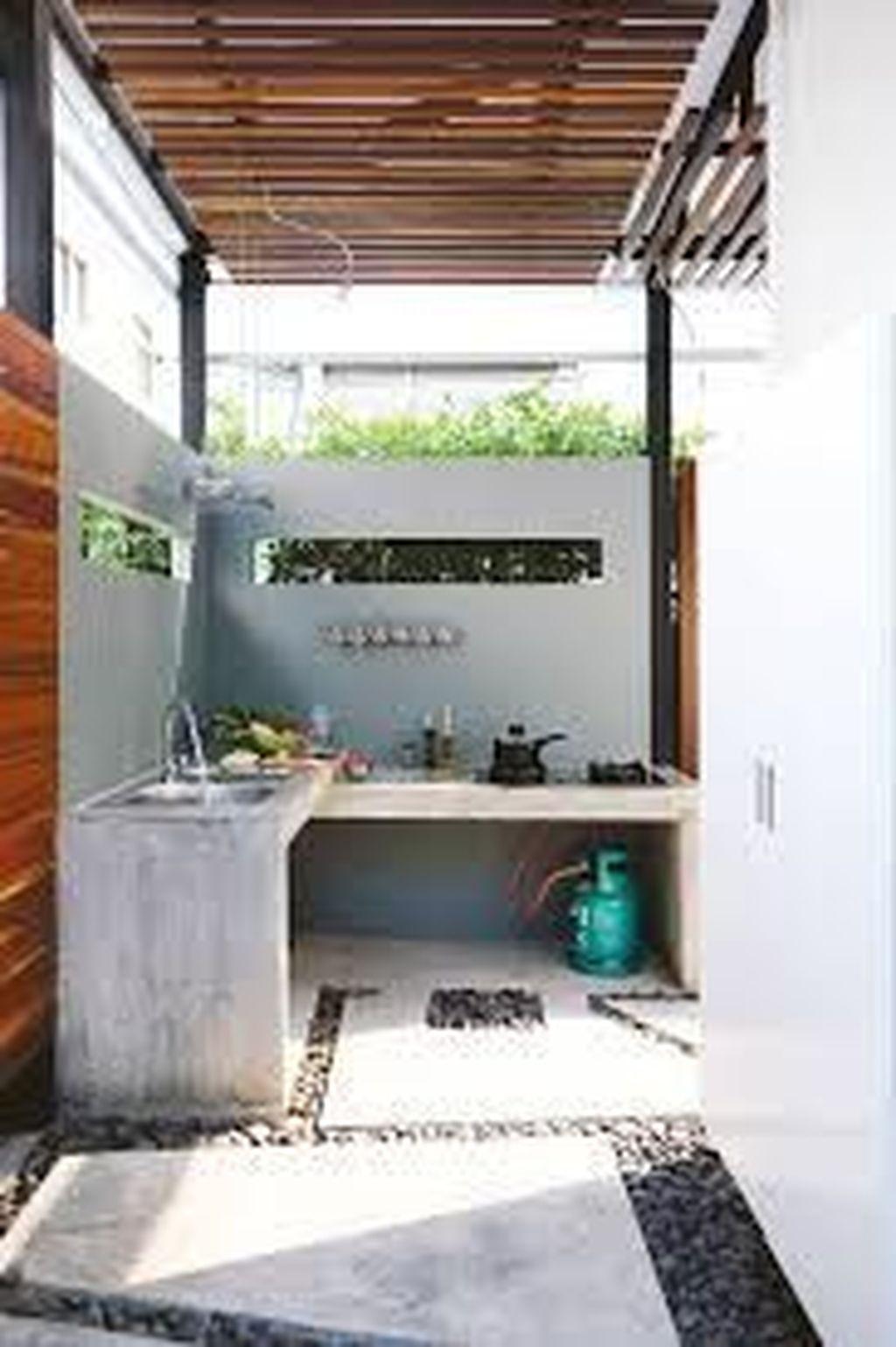 Stunning Outdoor Kitchen Design Ideas For Perfect Summer 06