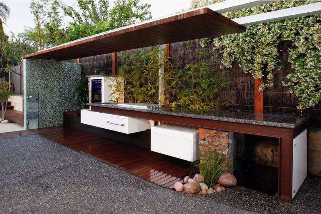 Stunning Outdoor Kitchen Design Ideas For Perfect Summer 07