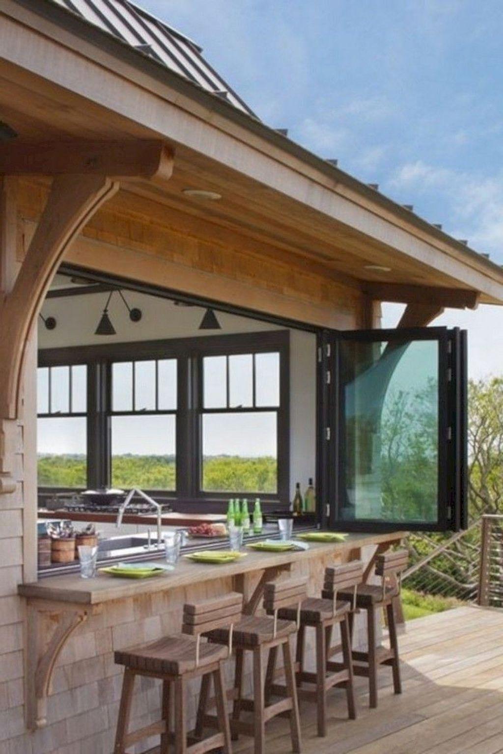 Stunning Outdoor Kitchen Design Ideas For Perfect Summer 08