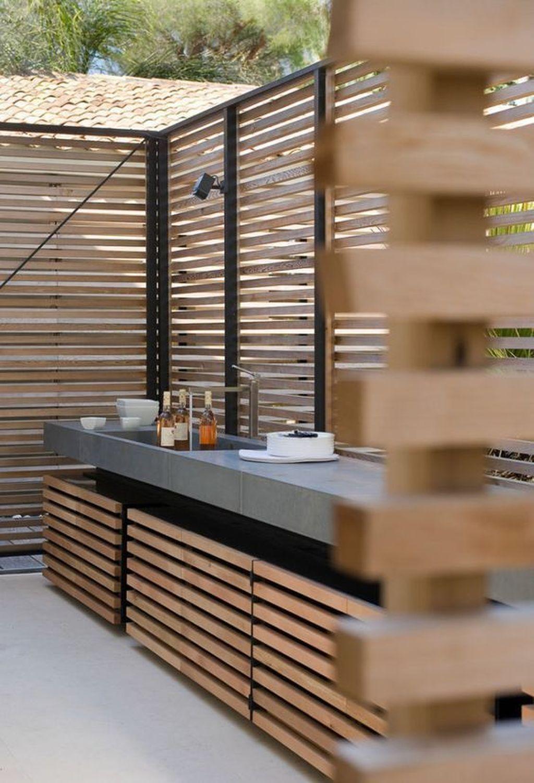 Stunning Outdoor Kitchen Design Ideas For Perfect Summer 19