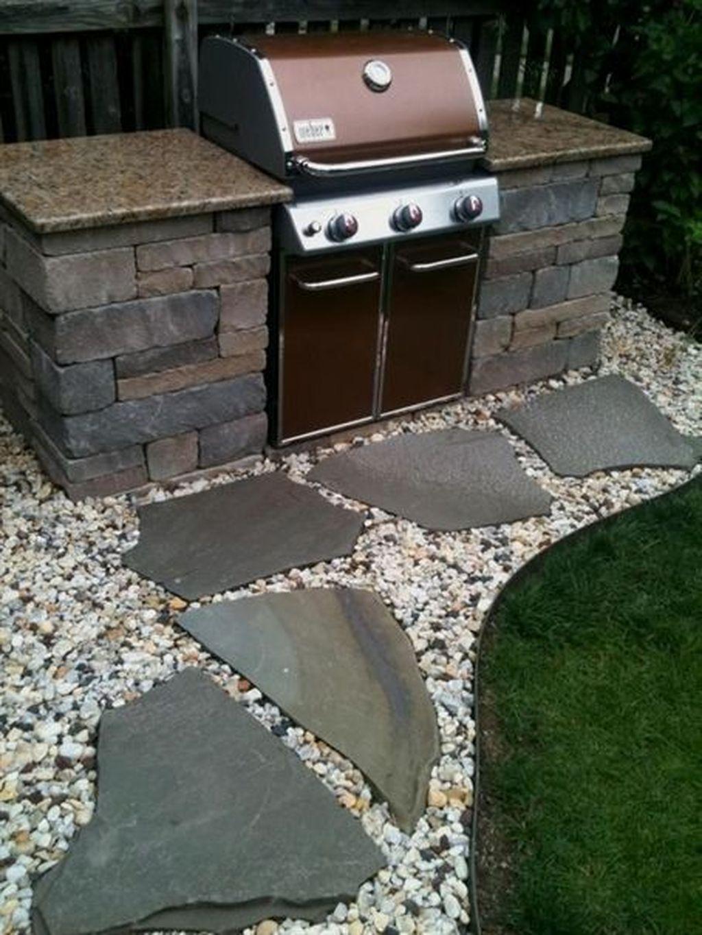Stunning Outdoor Kitchen Design Ideas For Perfect Summer 31