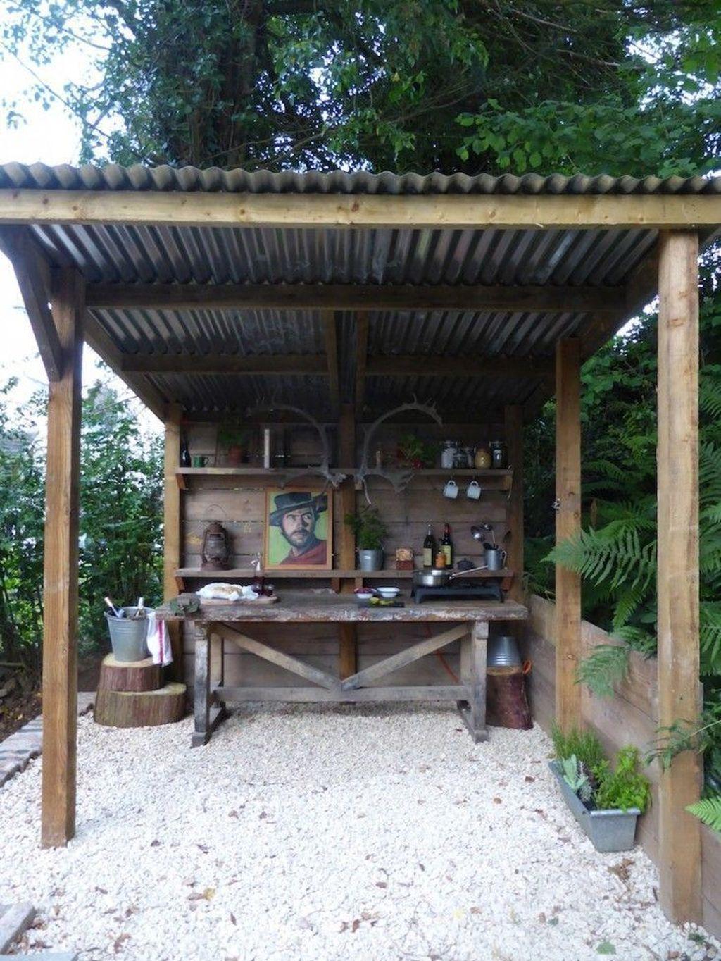 Stunning Outdoor Kitchen Design Ideas For Perfect Summer 32