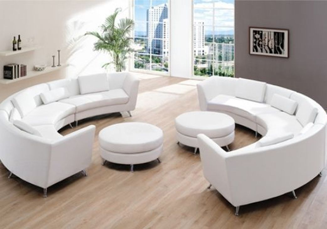 The Best Curved Sofa For Living Room Layout Ideas 10