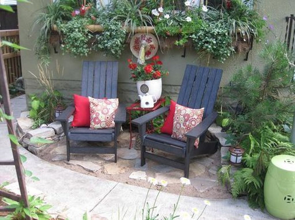 The Best Front Yard Landscaping Ideas Sitting Area 09