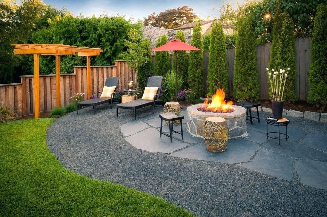 The Best Front Yard Landscaping Ideas Sitting Area 10