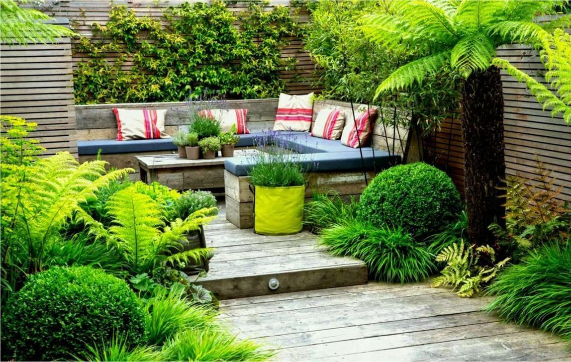 The Best Front Yard Landscaping Ideas Sitting Area 12