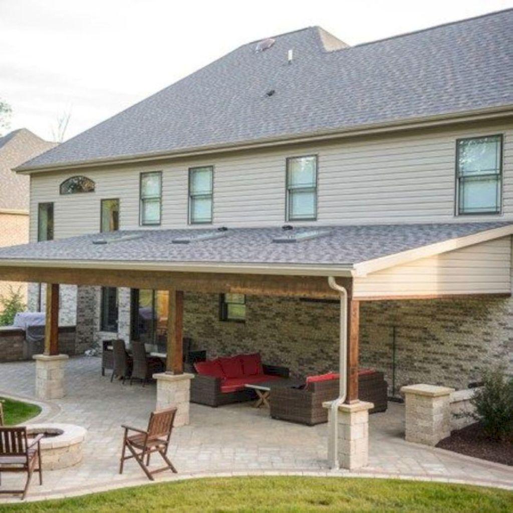 Wonderful Backyard Patio Design Ideas For Outdoor Decor 22