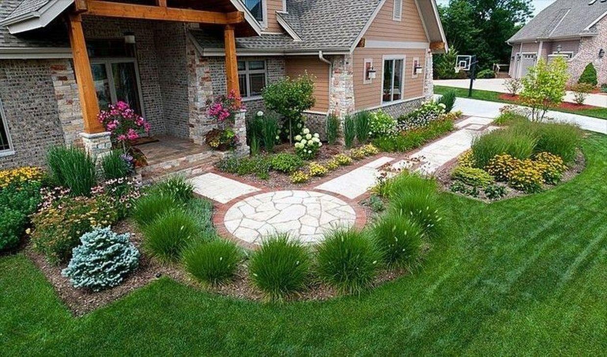 Wonderful Evergreen Landscape Ideas For Front Yard 08