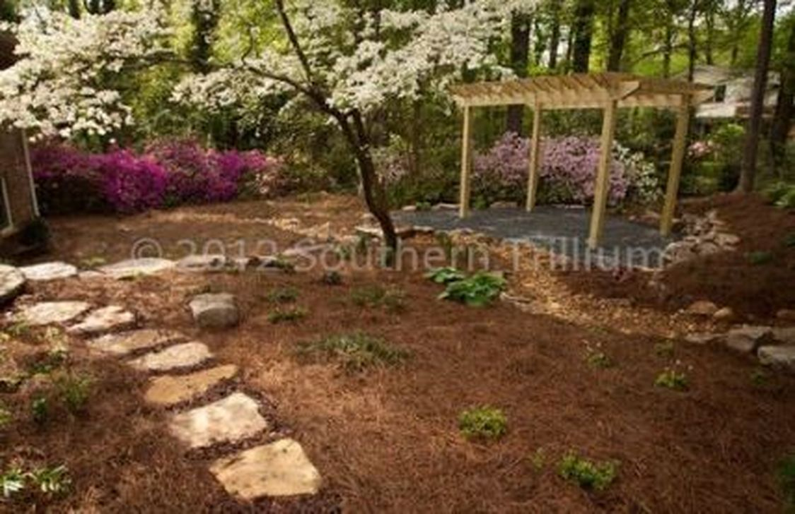Wonderful Yard No Grass Design Ideas 27