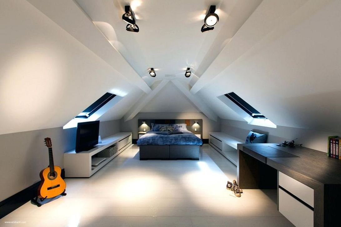 Amazing Attic Bedroom Design Ideas That You Will Like 07