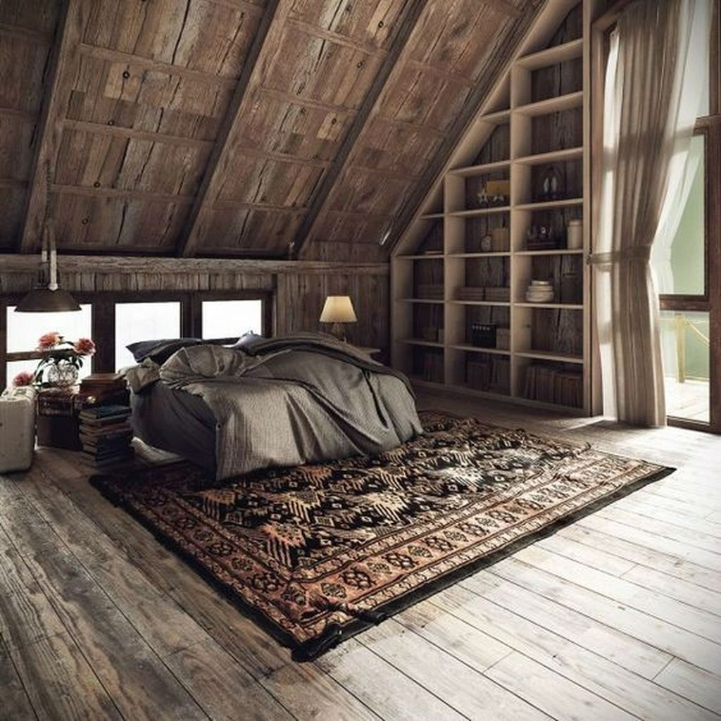 Amazing Attic Bedroom Design Ideas That You Will Like 12