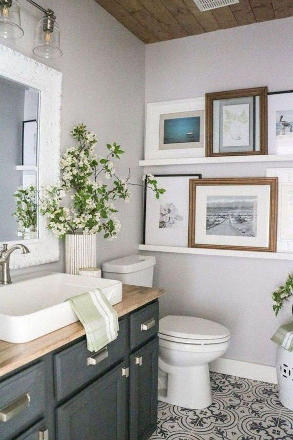 Amazing Farmhouse Bathroom Decor Ideas 03