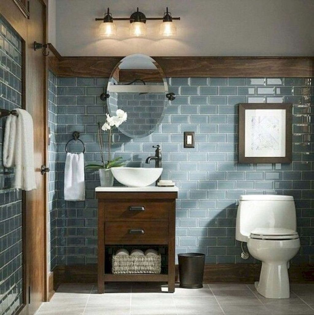 Amazing Farmhouse Bathroom Decor Ideas 06