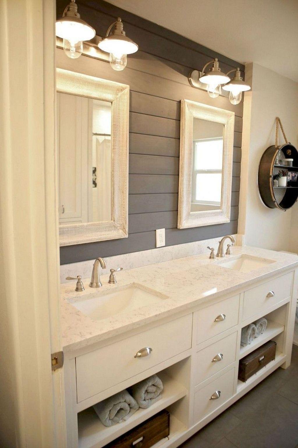 Amazing Farmhouse Bathroom Decor Ideas 21